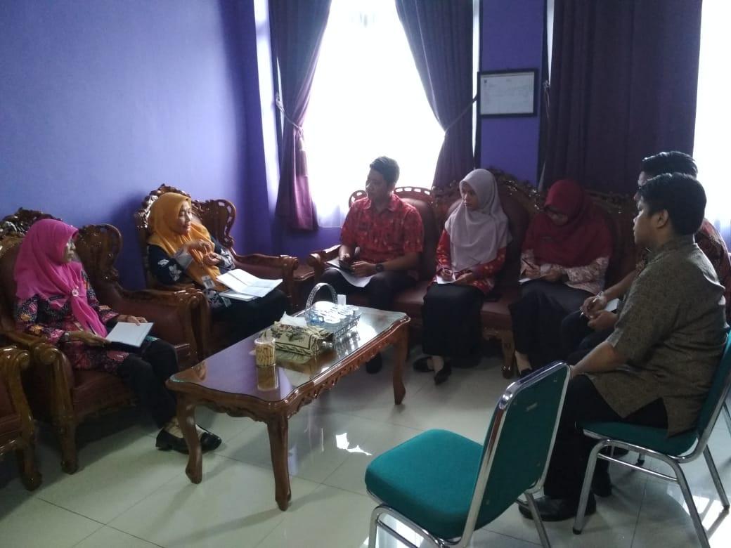 Rapat Koordinasi Tugas Admin Web Dinas Dengan Pejabat PPID Selaku Penangungjawab Di OPD