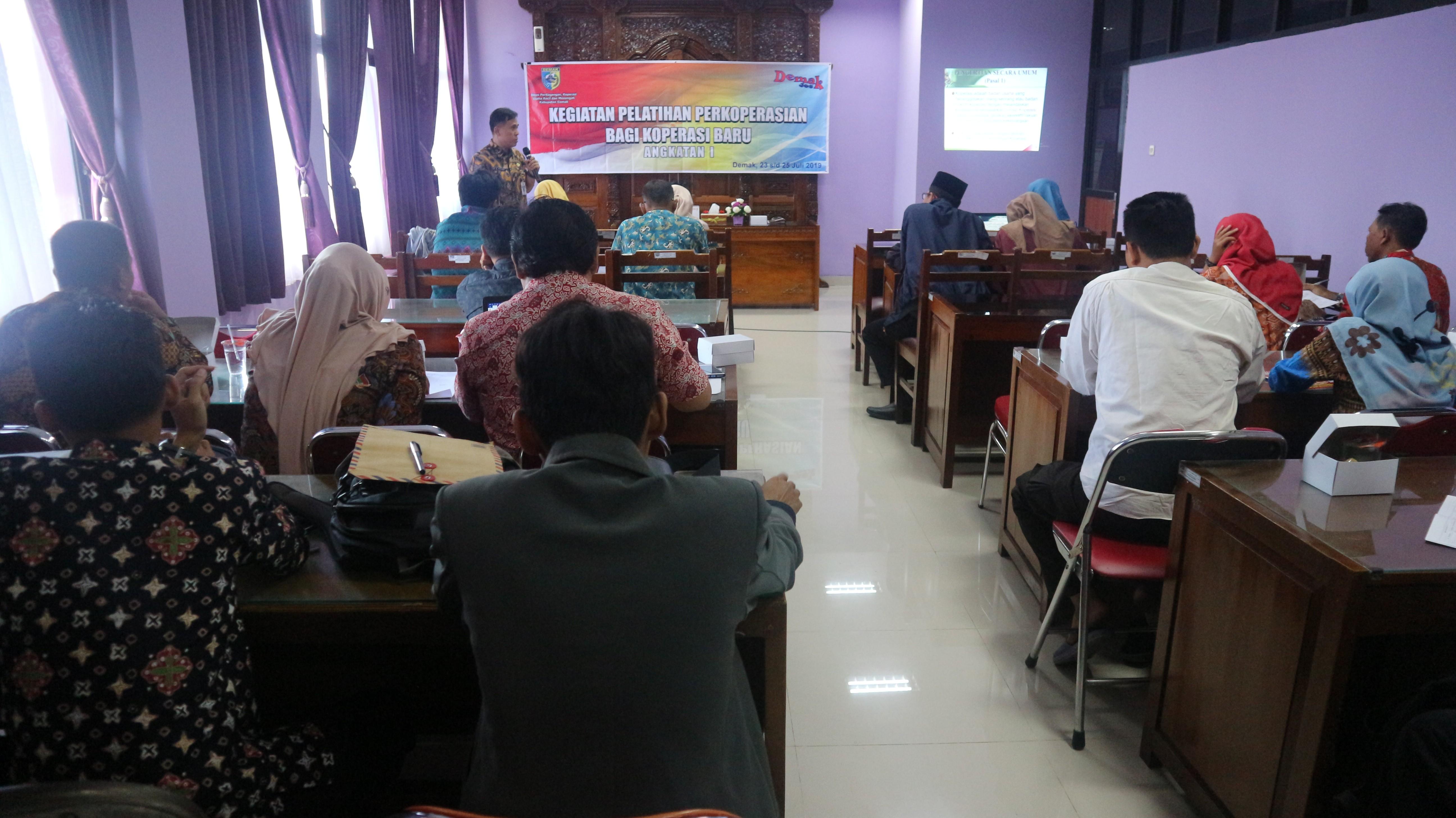 Pelatihan Perkoperasian Bagi Koperasi Baru (Lanjutan Hari ke 3)