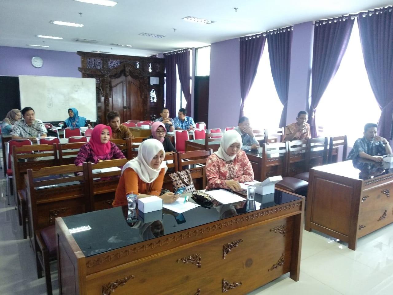 Rapat  Tekhnis  Pelaksanaan  Lomba  Paduan  Suara Peringatan  Hari  Koperasi  Ke-72 Kabupaten Demak