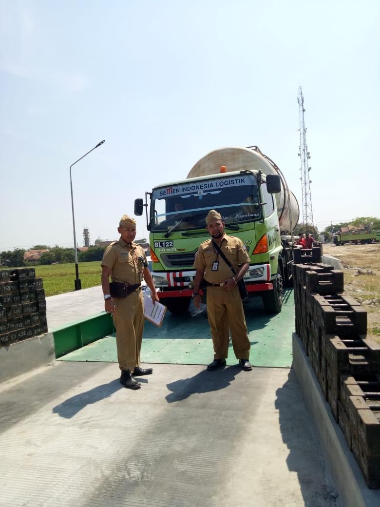 Permintaan Tera Ulang Jembatan Timbang PT. NBI