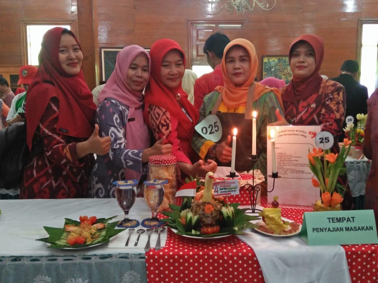 Lomba Masak Nasi Goreng Dalam Rangka Hut Ke 74  Republik Indonesia