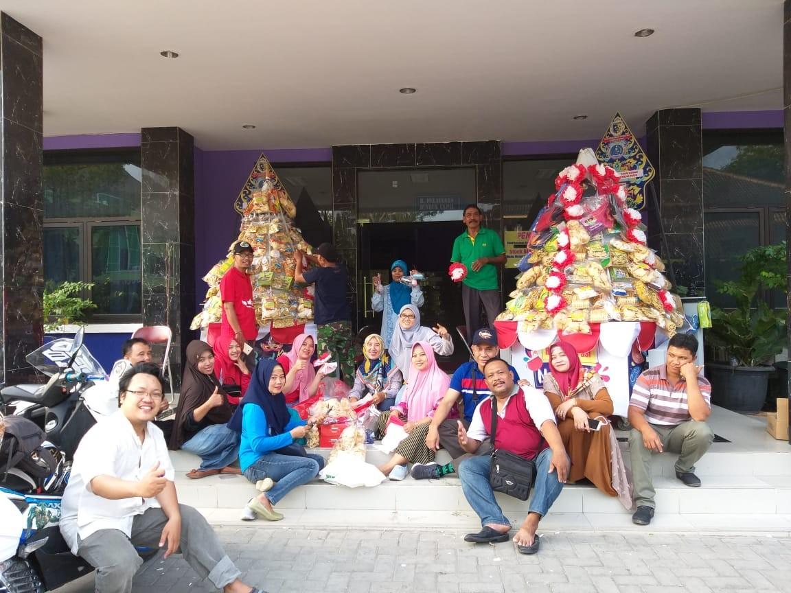 Persiapan Karnaval Dalam Rangka Memperingati HUT 74 Republik Indonesia