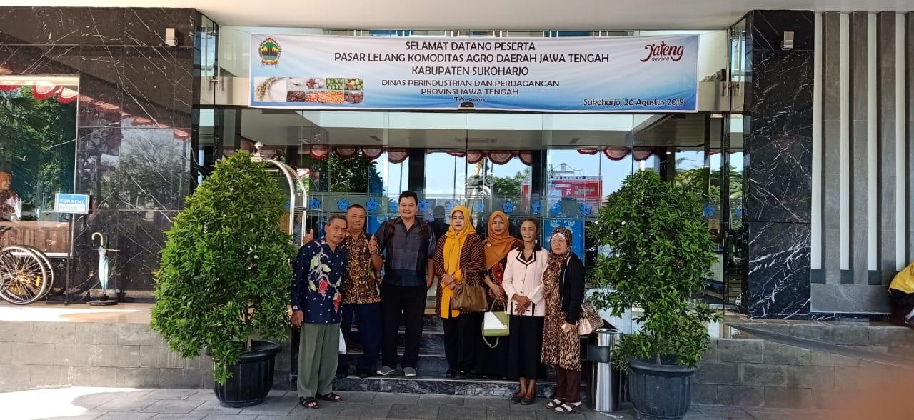 Kegiatan Forum Dagang Komoditas Agro Jawa Tengah Di Solo Baru  Kab. Sukoharjo
