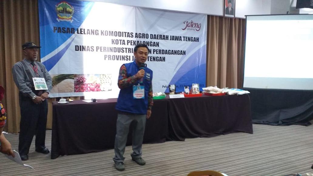 Kegiatan Forum Dagang Komoditas Agro Jawa Tengah Kota Pekalongan