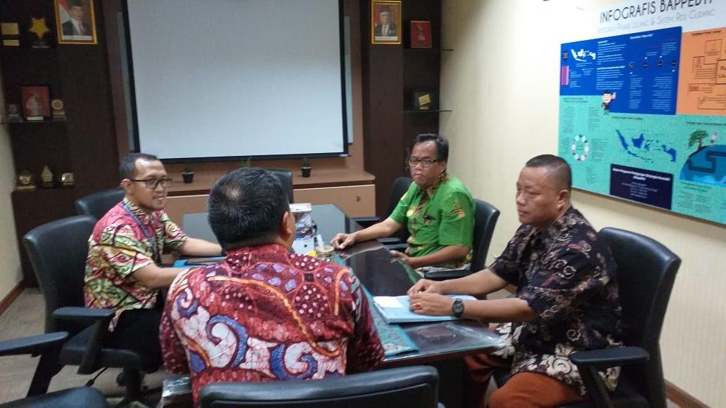 Konsultasi Koordinasi Pengelolaan Gudang SRG. di BAPPEBTI - KEMENDAG RI. JAKARTA