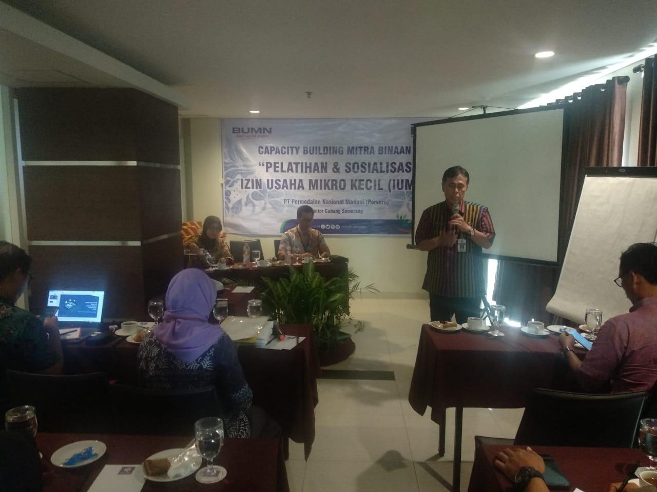 kegiatan Pelatihan Capacity Building untuk Mitra Binaan PT.PNM