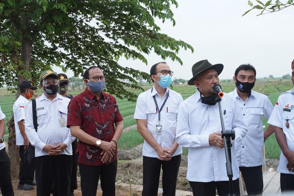 Kunjungan Kerja Menteri Koperasi Dan UKM Republik Indonesia