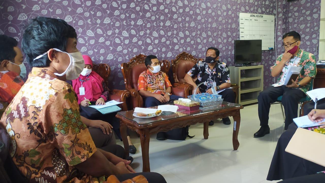 Kunjungan Dan Koordinasi Dari Inspektorat Kab.Demak Terkait Pemeriksaan Bapak Di Dindagkop UKM