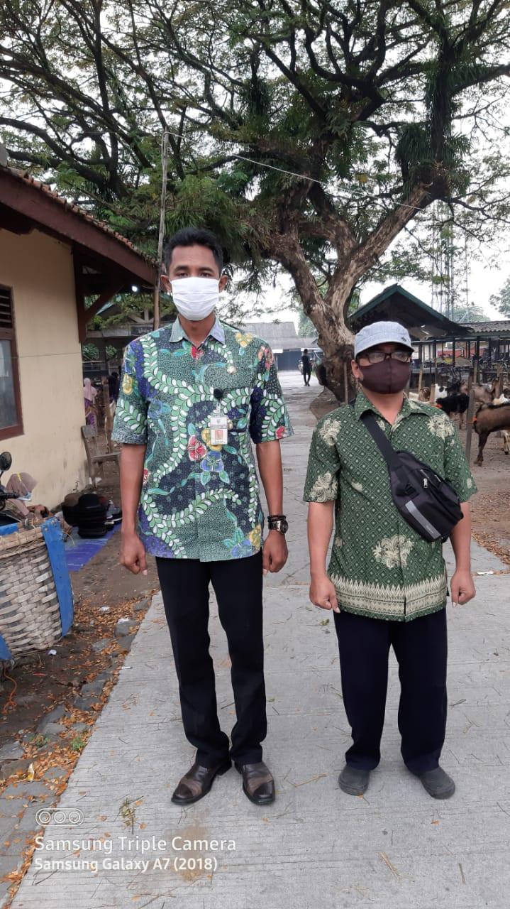 Penjagaan Pasar Kabupaten Demak DI UPTD Paswil III Pasar Gading Serta Apel Pagi Protokol Kesehatan