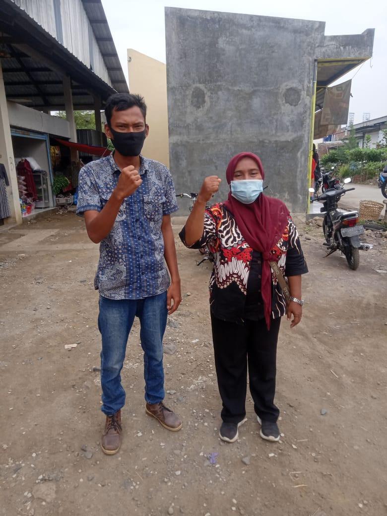 Penjagaan Pasar Kabupaten Demak DI UPTD Paswil II Pasar Sriwulan Serta Apel Pagi Protokol Kesehatan