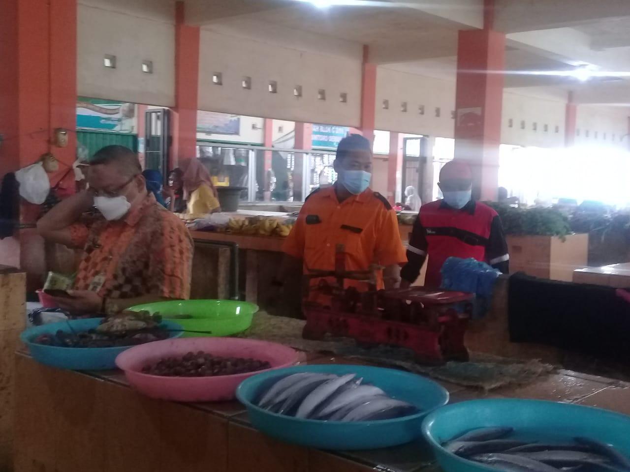 Pemeriksaan Kebersihan Pasar Bintoro Periode Bulan Agustus 2021