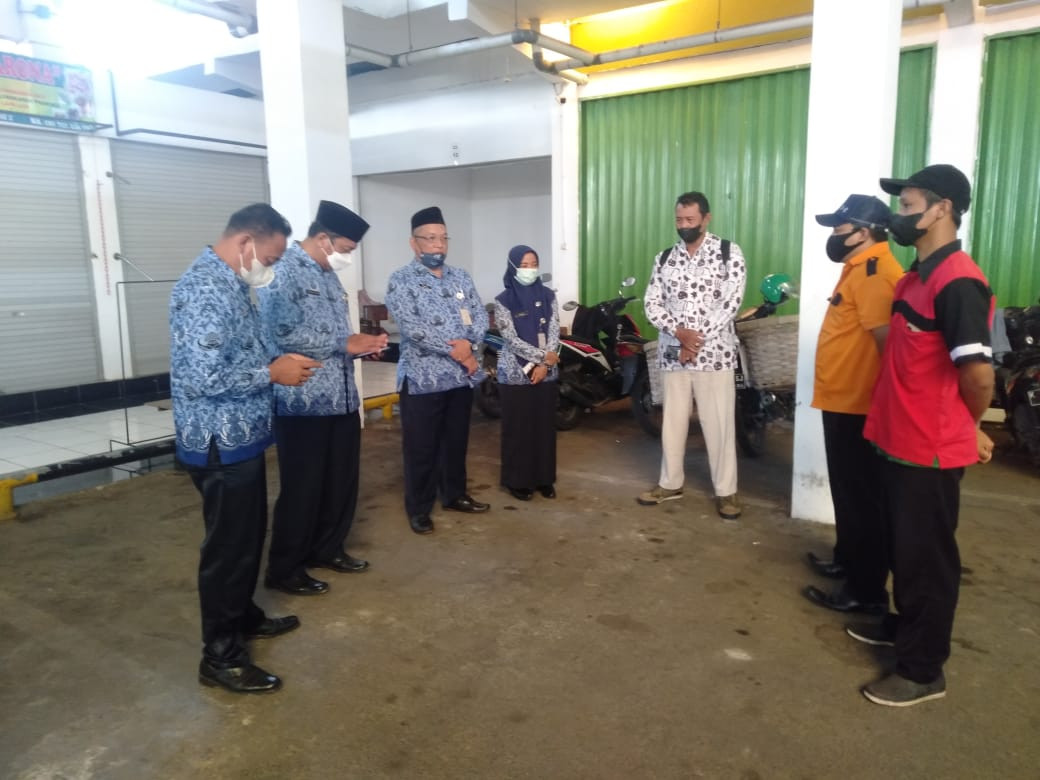 Pemeriksaan Kebersihan Pasar Mranggen Periode Bulan Agustus 2021