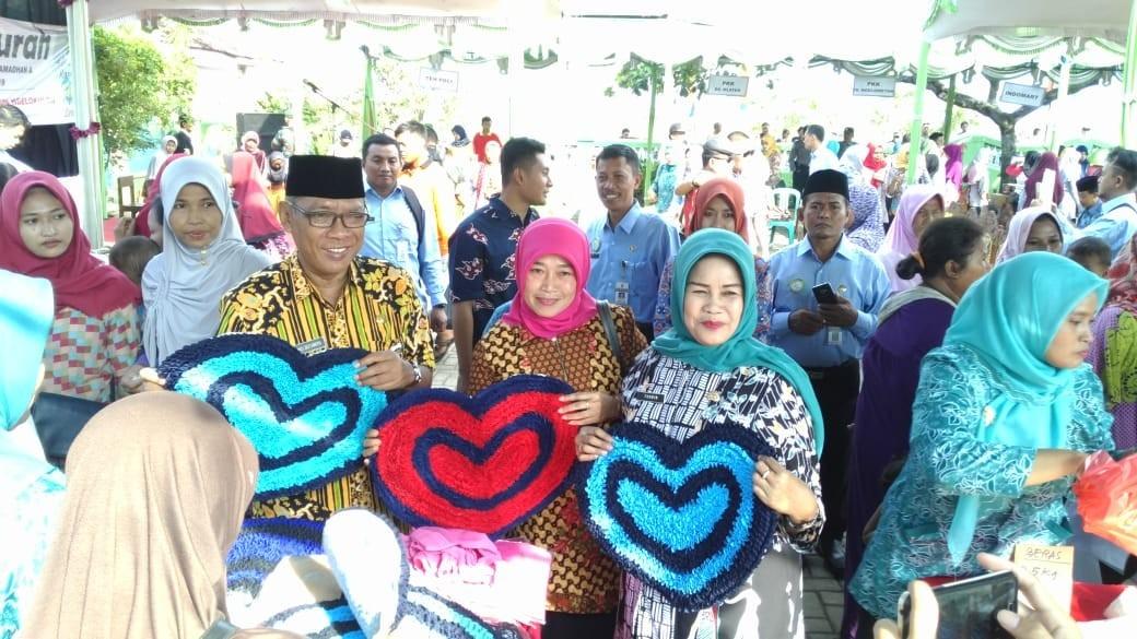 Pasar Murah Dindagkop UKM Demak Dalam Rangka Ramadhan II